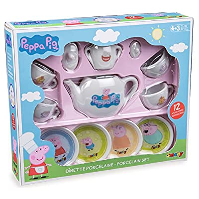 Peppa Pig - Porcelain Set Blue: Toys & Games
