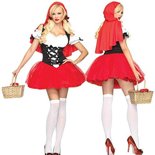 Ailisen New Satin Fabric Short Sleeve Classic Halloween