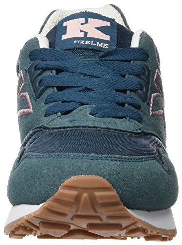 Kelme Unisex Adults' K-37 Trainers Turquoise (Aqua) RYIo93