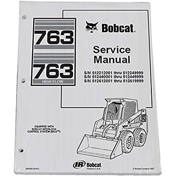 85 bobcat 742 repair manual open source user manual u2022 rh dramatic varieties com Bobcat Parts Manual Images Bobcat Manual