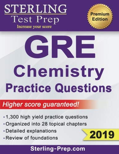Top 6 best chemistry gre practice book: Which is the best one in 2019?