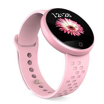 Reloj inteligente para mujer Fitness, pulsera ajustable, pantalla táctil, resistente al agua,