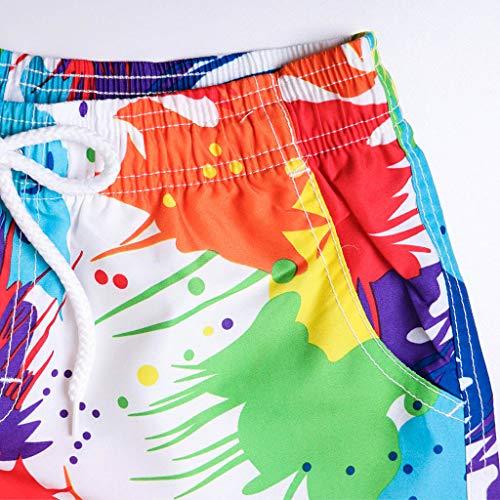Simayixx Women Shorts Plus Size, Womens Teens Board Pants Adjustable Bikini Lace Swim Short Beach Swimwear Trunks Bottoms by Simayixx (Image #3)