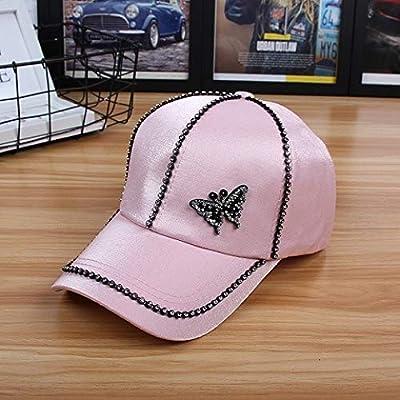 Gorra Blanca Gorra de béisbol Wild M Sombrero para el Sol Mariposa ...