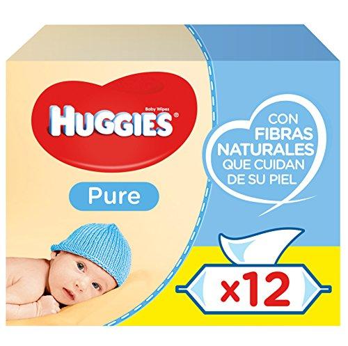 🥇 Huggies Pure Toallitas para bebé – 672 Toallitas