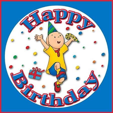 Amazon.com: Caillou Feliz cumpleaños Comestible imagen ...