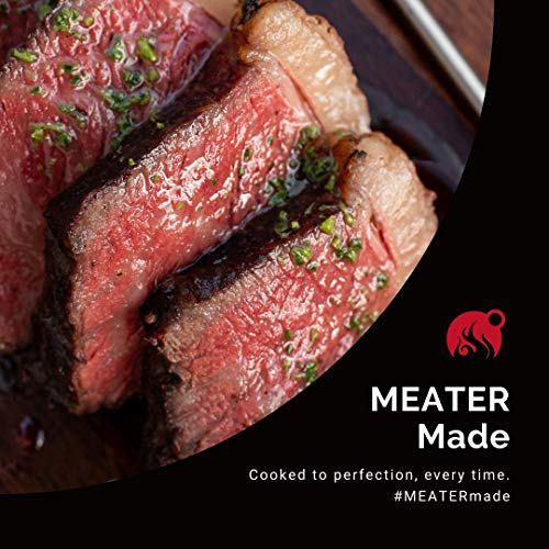 MEATER Plus   165ft Long Range Smart Wireless Meat Thermometer with Bluetooth for The Oven, Grill, Kitchen, BBQ, Smoker…