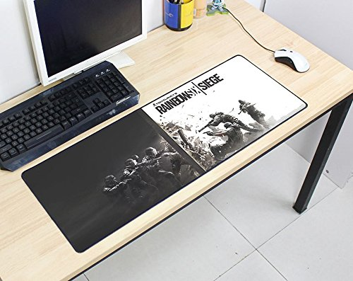 Rainbow Six Siege Mouse Pad 800X300X2Mm Pad Mouse Computer Mouse Pad Best-Selling Game Padmouse Game Player Keyboard Mouse Pad A