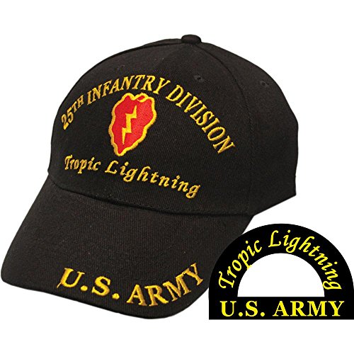 U.S. Army 25th Infantry Division Tropic Lightning (Division Military Hat)