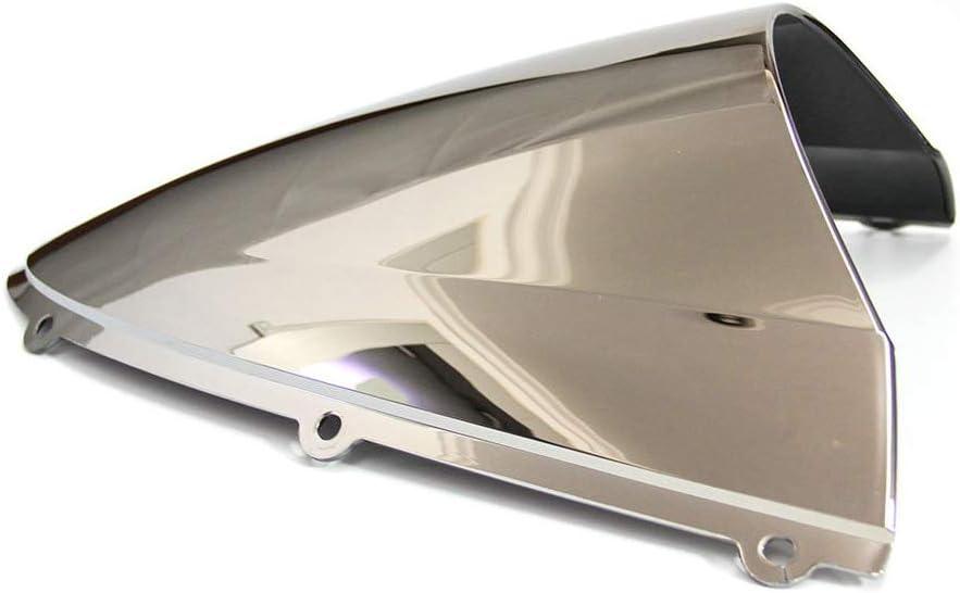 Transparente Motorrad Windschutzscheibe Shield Wind Screen Windschutzscheibe f/ür Kawasaki Ninja ZX6R 636 2005-2008 ZX10R 2006-2007