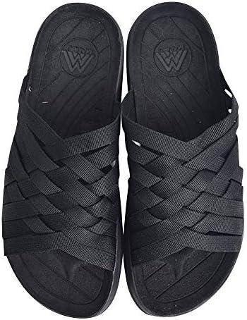 (MS02-0066) ZUMA-Nylon Black/Black メンズサンダル [並行輸入品]