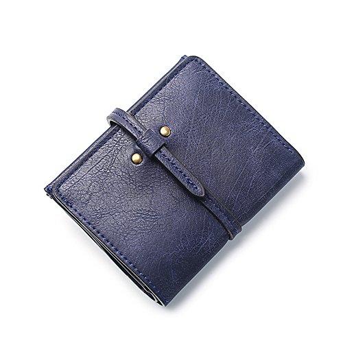Women Short PU Leather Wallet(Pink) - 1