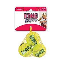 Kong KONG Air Kong Squeaker Ball XS 3Pk