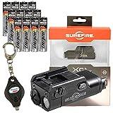 SureFire XC1 Ultra-Compact LED Handgun Light 200 Lumens w/ 12x Extra AAA Energizer Max Alkaline Batteries and Alliance Gadget Keychain Light