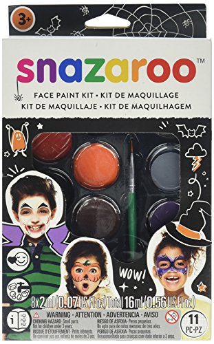 Halloween Face Painting Palette