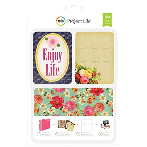 180 Pieces Becky Higgins 380338 Project Life Values Kits-Odds and Ends