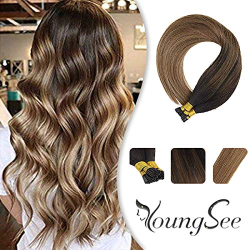 Youngsee Extensions Balayage Darkest Caramel