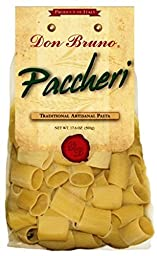 Don Bruno Pasta, Paccheri, 17.6 Ounce (Pack of 6)