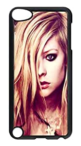 ipod touch5 custom case,ipod touch5,Avril Lavigne case,Animated Cover Case for ipod touch5.