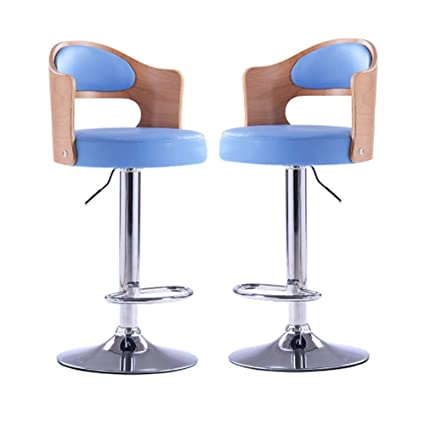 Wondrous Amazon Com Hikty Bar Stools Set Of 2 Adjustable Counter Gmtry Best Dining Table And Chair Ideas Images Gmtryco