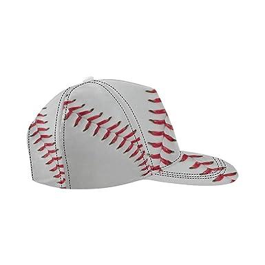ca3ad1cbde5fc Image Unavailable. Image not available for. Color  InterestPrint Hip Hop Cap  for Men Women Baseball Baseball Hat Fashion Snapback Adjustable Cap