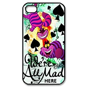 James-Bagg Phone case Alice in Wonderland Protective Case For iphone 4/4s iphone 4/4s Style-2