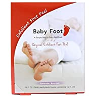 Baby Foot Exfoliant foot peel, Lavender Scented,2.4 fl oz. (packaging may vary)