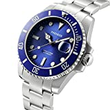 PHOIBOS GREAT WHITE PY007B 300M Automatic Diver Watch Blue
