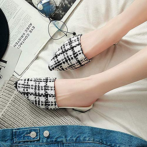 T-JULY 2018 Fashion Fashion Flat Sandals Pointed & Closed Toe Mules Home Slippers Slides Slip On Lazy Dress Shoes by T-JULY (Image #3)