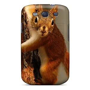 DGENDS Pretty Squirrel Other Animals Widescreen Case Cover Galaxy S3 Series High Quality Case