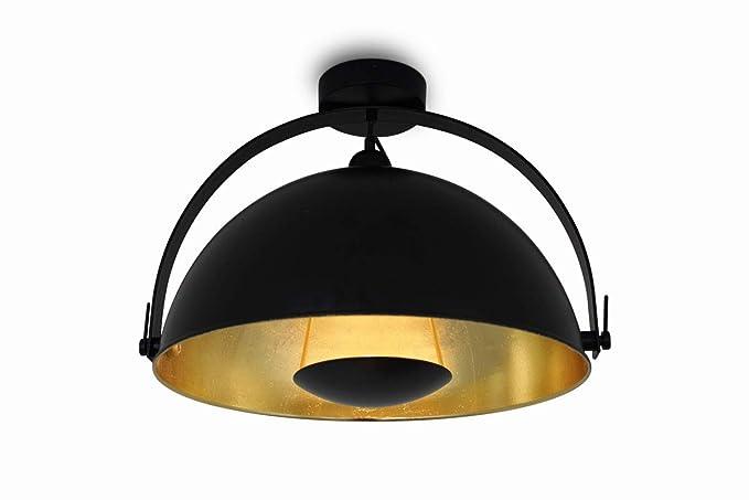 Plafoniere Retro : Lampada da soffitto plafoniera alona ceil retro style nero