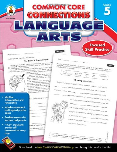 Common Core Connections Language Arts, Grade 5