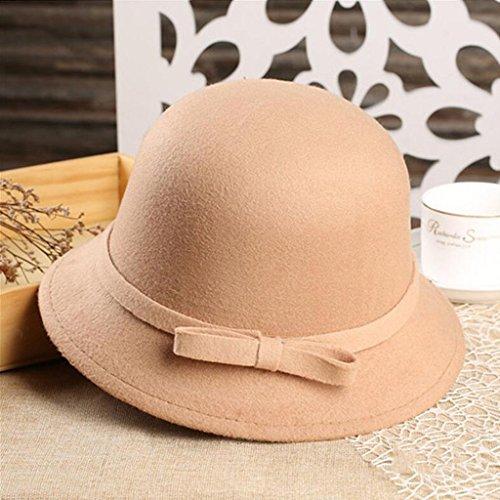 Mujer Summer and Versi de invierno Cape Aj Bow Hat qaXR5wFvz