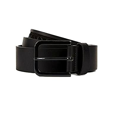 4955418b9666 Emporio Armani - Ceinture - Homme Noir Noir 125 cm  Amazon.fr ...