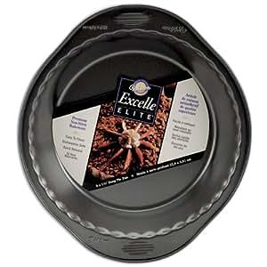 Wilton Excelle Elite 9 Inch x 1.5 Inch Deep Pie Pan
