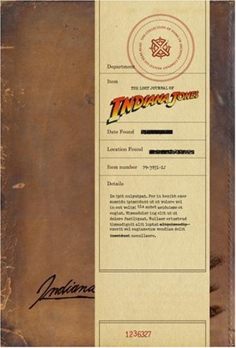 The Lost Journal of Indiana Jones pdf