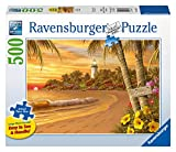 Ravensburger Tropical Love Large Format 500 Piece Jigsaw Puzzle for Adults - Every Piece is Unique, Softclick Technology Means Pieces Fit Together Perfectly