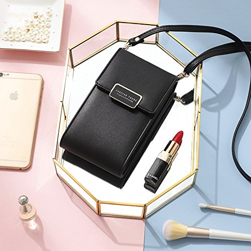Cell Crossbody Women Small Purse Black Bag Wallet Bags Phone R6pt6Zx