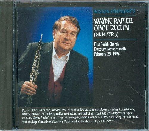 Wayne Rapier Oboe Recital