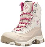 Columbia Women's Bugaboot Plus Omni-Heat Michelin Snow Boot, Sea Salt, Deep Blush, 9 B US