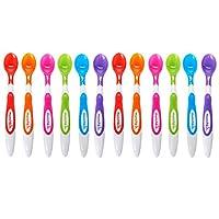 Munchkin 12 piezas de cucharas para bebés de punta suave