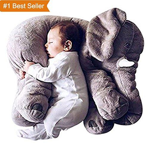 Soften Stuffed Elephant Plush inch product image