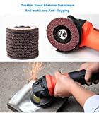 "40 Grit Sanding Flap Discs by LotFancy, 4.5"" x"
