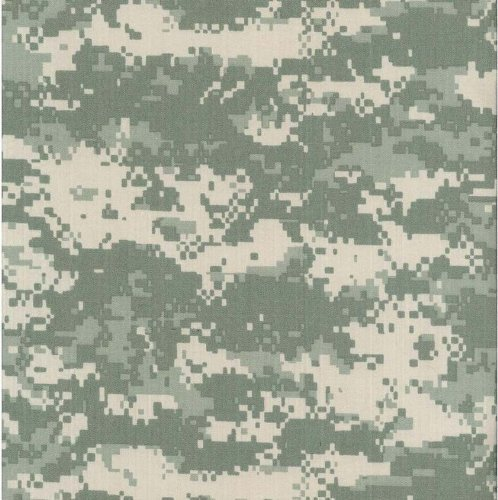 Army Digital Camouflage Nylon/Cotton RIPSTOP Fabric Print by the Yard by Magna Fabrics