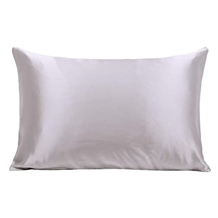 dd9f6a77718b7 Ravmix 100% Pure Mulberry Slip Silk Pillowcase Queen Size for Skin & Hair  21 Momme
