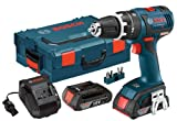 Bosch HDS182-02L 18-volt Brushless 1/2-Inch Compact Tough Hammer Drill/Driver with 2.0Ah Batteries, Charger and L-Boxx-2 Review