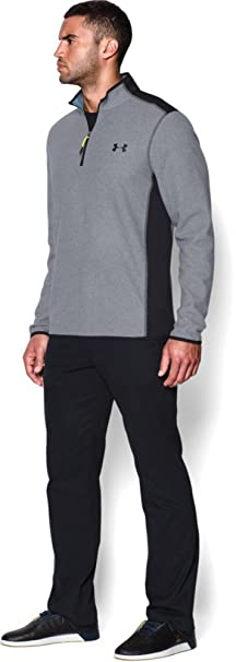 Womens Under Armour Set ~ Fitted Mock Neck Pullover & Running Pants ~ Medium Women's Clothing Clothing, Shoes & Accessories