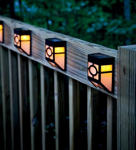Solar Powered Pillar Lights - 8