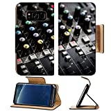 Liili Premium Samsung Galaxy S8 Plus Flip Pu Leather Wallet Case Part of an audio sound mixer with buttons 28835977