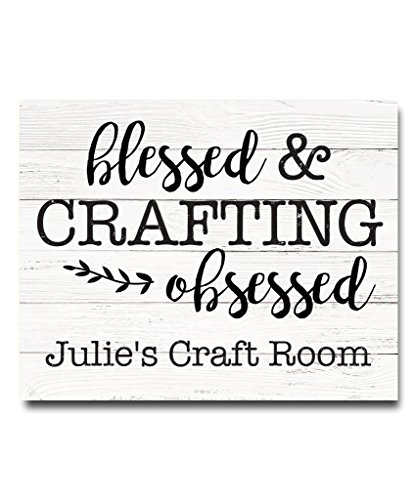 Craft Room Decor | Craft Room Wall Art | Sewing Gift | Sewing Room Decor | Sewing Decoration | Mothers Day Gift | Knitting Gift | Quilting Gift | Personalized Gift for Grandmother from Canary Road